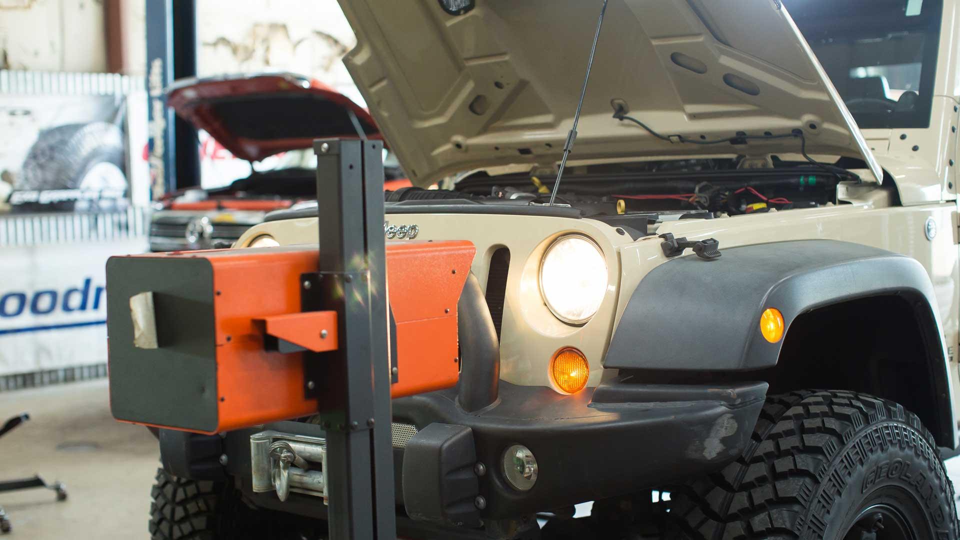 4x4 Headlight Aiming