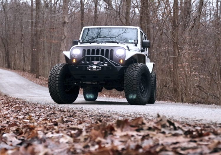 2016 Jeep Wrangler Oscar Mike