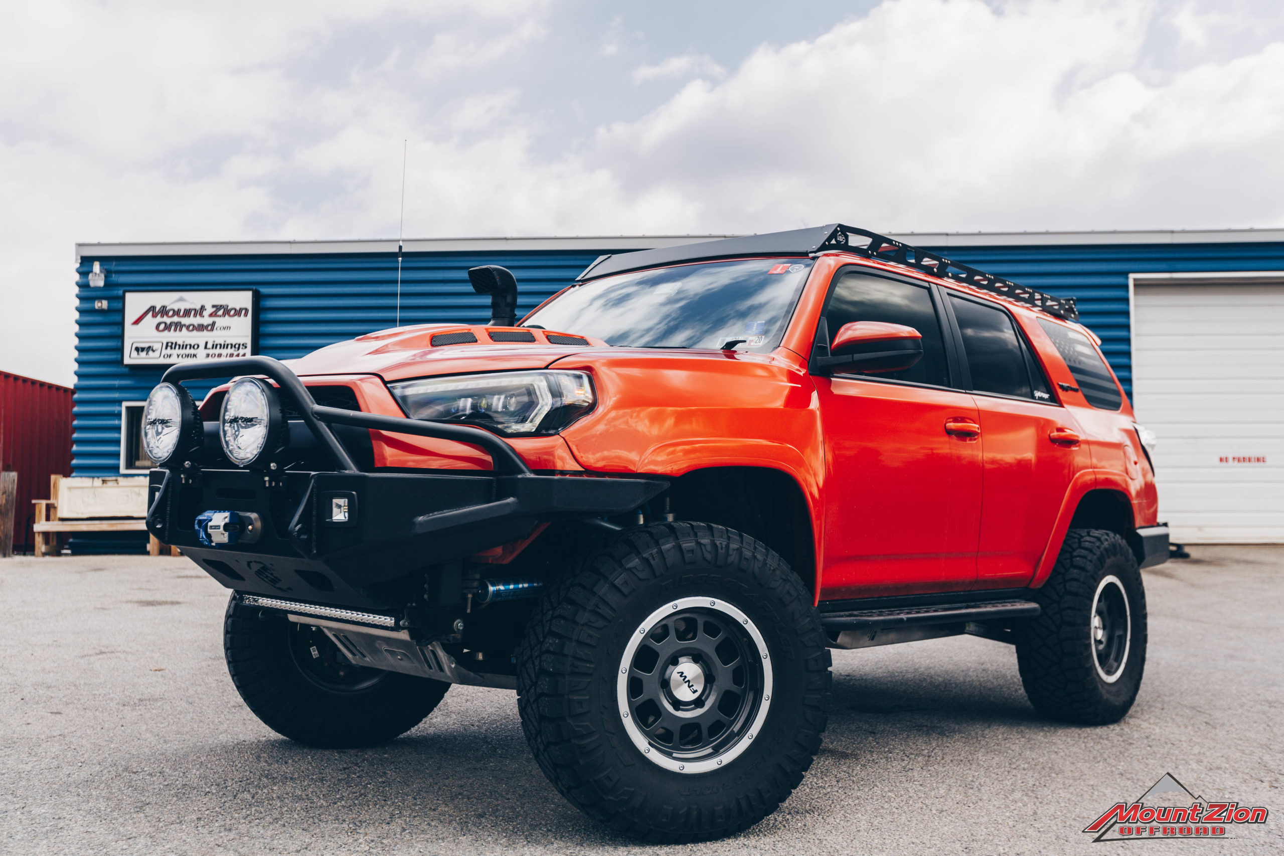 2015 Toyota 4runner Trd Pro Mount Zion Offroad