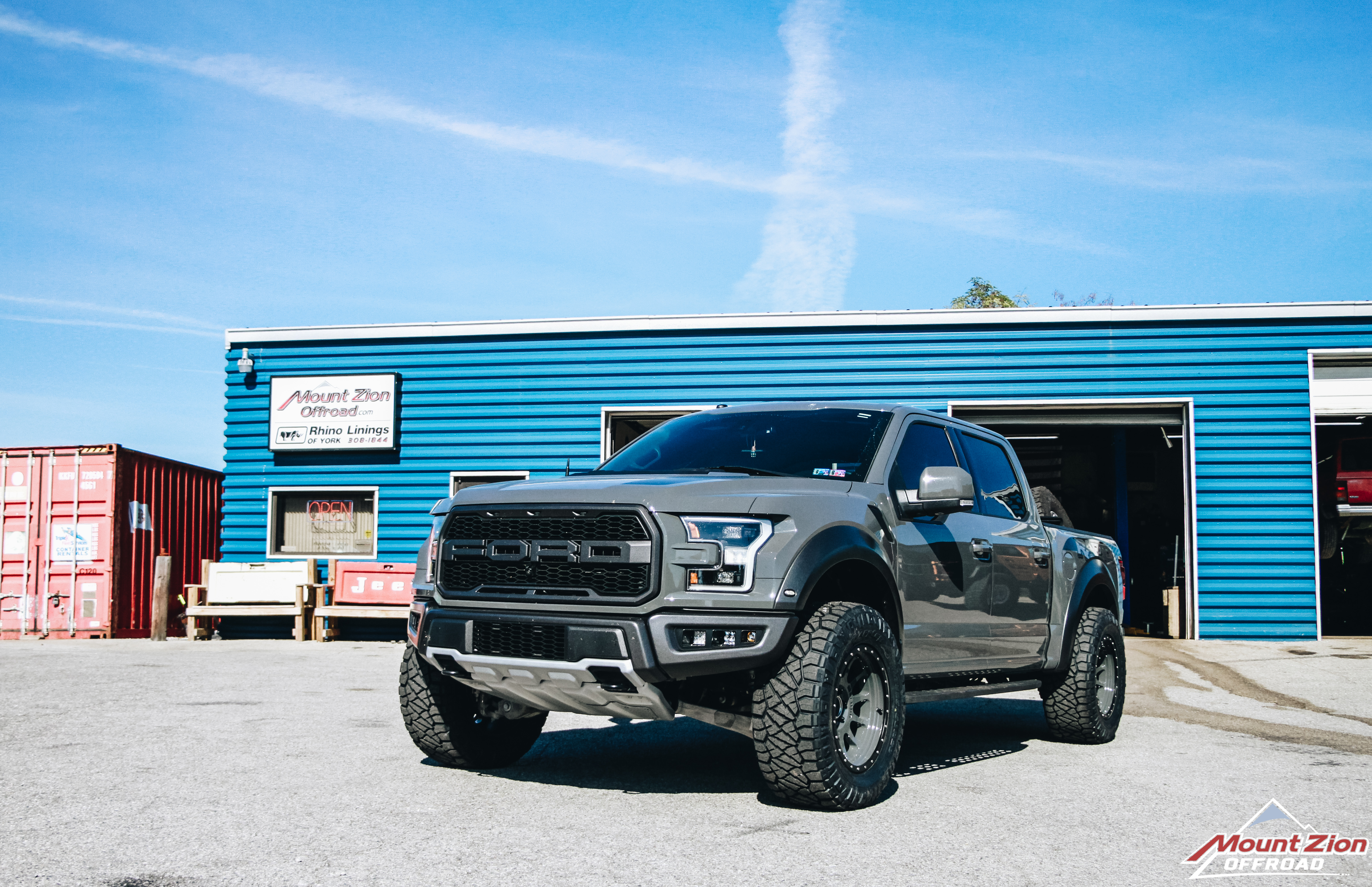 2018 Ford Raptor Mount Zion Offroad