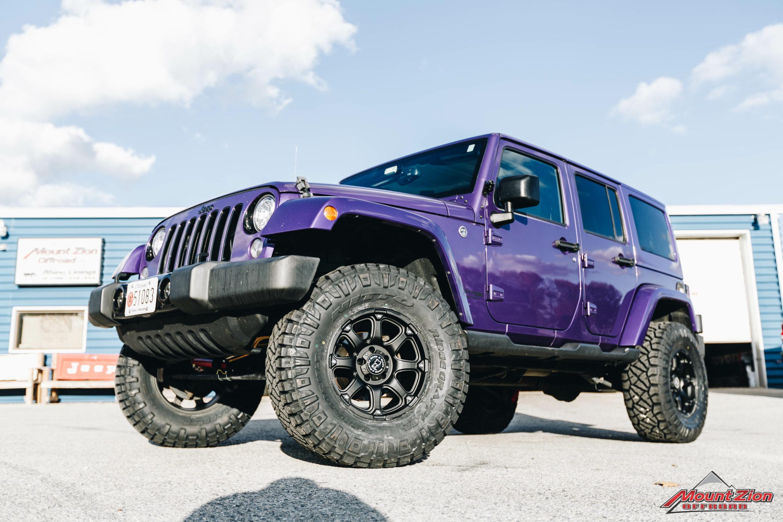 2018 Jeep Wrangler JKU Sahara