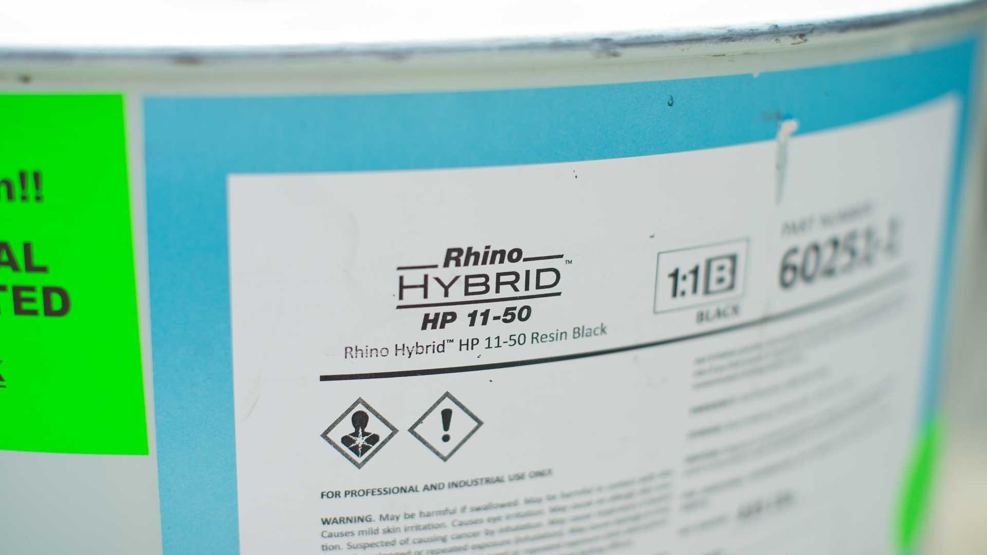 Rhino Lining Hybrid Approach